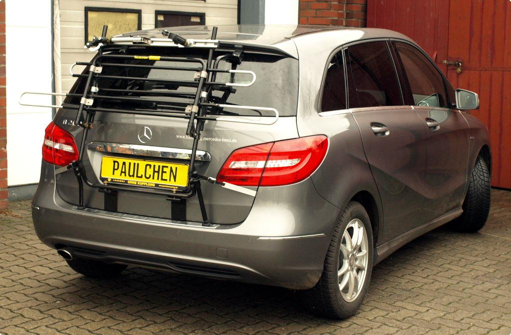 mercedes b klasse bike rack paulchen hecktr ger system. Black Bedroom Furniture Sets. Home Design Ideas
