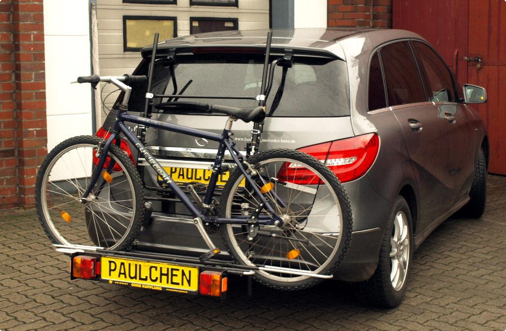 mercedes b klasse bike rack paulchen hecktr ger system fahrradtr ger. Black Bedroom Furniture Sets. Home Design Ideas