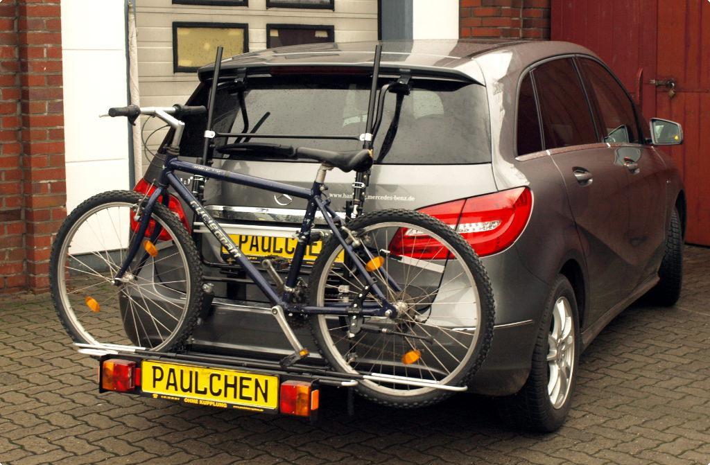 fahrradtr ger f r mercedes b klasse w246 paulchen. Black Bedroom Furniture Sets. Home Design Ideas