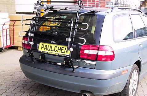 Volvo V 40 Combi Bike carrier in standby position