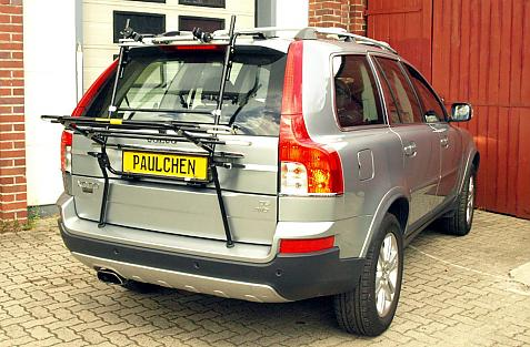 Volvo XC 90 Facelift Bike carrier in loading position