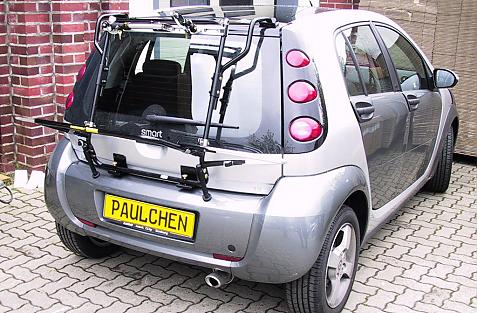 Smart Smart forfour (454) Bike carrier in loading position