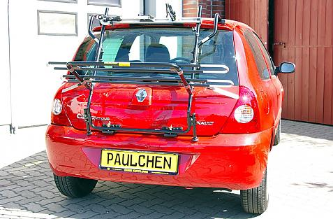 Renault Clio 2 Campus (B) Bike carrier in loading position