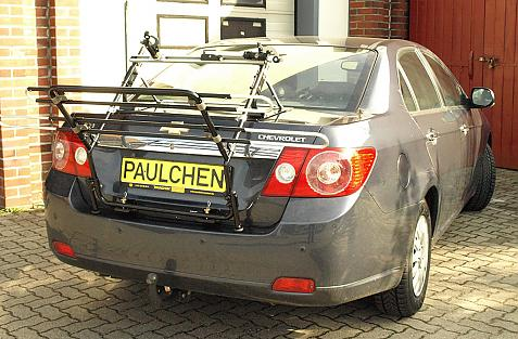 Chevrolet Epica Bike carrier in loading position