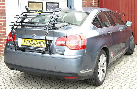 Citroen C5 Stufenheck Bike carrier in standby position