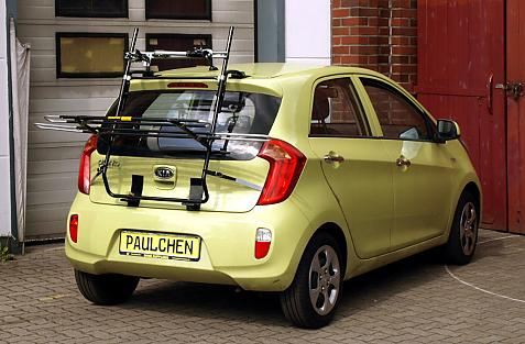 Kia Picanto (TA) Bike carrier in loading position