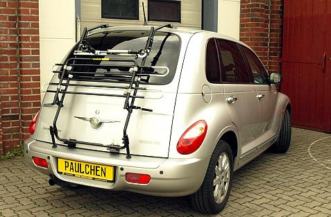 Chrysler PT Cruiser Bike carrier in standby position