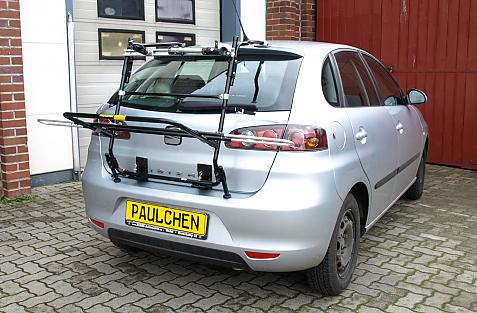 Seat Ibiza (6L1) Bike carrier in loading position