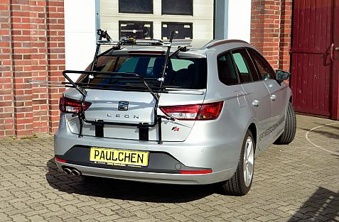 Seat Leon ST Bike carrier in loading position