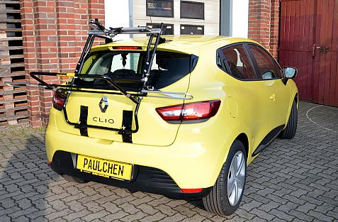 Renault Clio IV Bike carrier in loading position