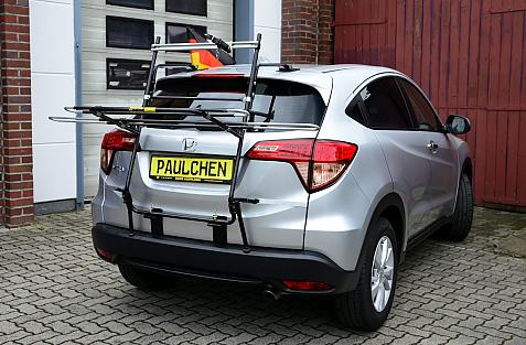 Honda HR-V (RU) Bike carrier in loading position
