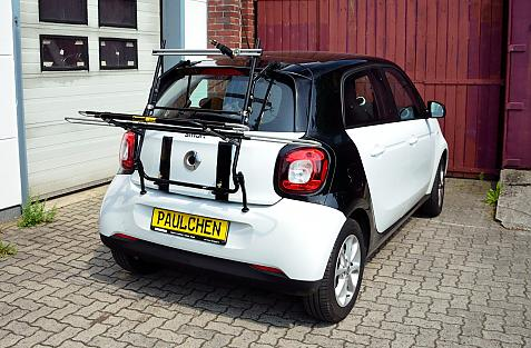 Smart Smart forfour (453) Bike carrier in loading position