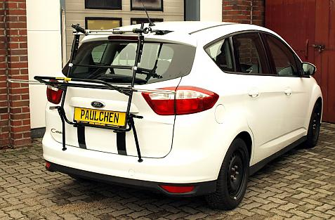 Ford C-Max Bike carrier in loading position