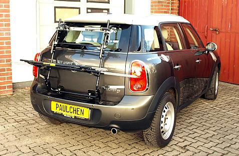 Mini Mini Cooper D/SD Countryman Bike carrier in loading position