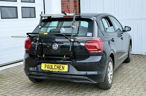 Volkswagen Polo VI (AW) Bike carrier in loading position