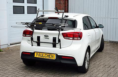 Kia Rio IV (YB) Bike carrier in loading position