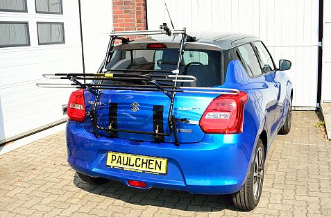 Suzuki Swift V (AZ) Bike carrier in loading position