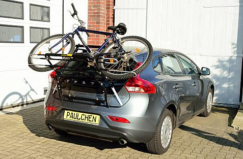 Volvo V40 (525/526) Bike carrier loaded with bike
