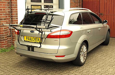 Ford Mondeo Turnier (BA7) Bike carrier in loading position