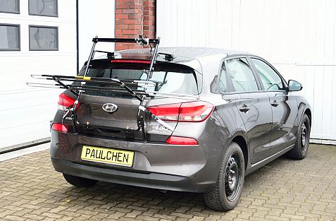 Hyundai i30 (PD) Bike carrier in loading position