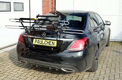 Mercedes C-Klasse (W205) Bike carrier in loading position