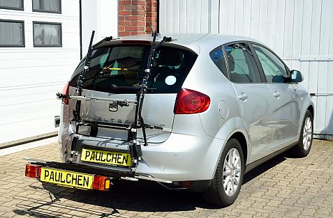 Seat Altea Facelift Bike carrier with comfort load expansion in loading position. Without trailer hitch!