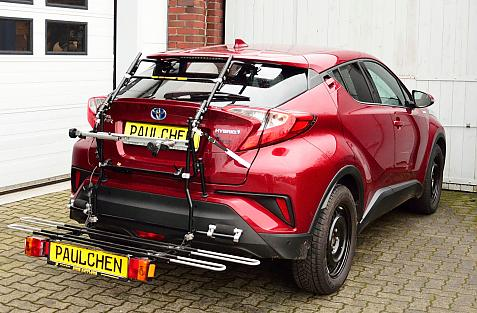 Toyota C-HR (X1) Bike carrier with comfort load expansion in loading position. Without trailer hitch!