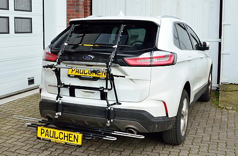 Ford Edge Facelift Bike carrier with comfort load expansion in loading position. Without trailer hitch!