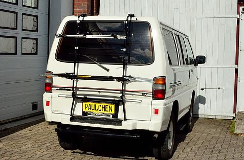 Mitsubishi L300 II (P0) Bike carrier in loading position