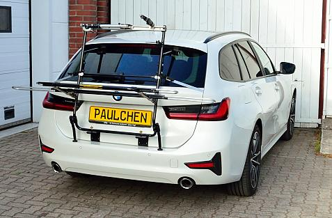 BMW 3er Touring (G21) Bike carrier in loading position