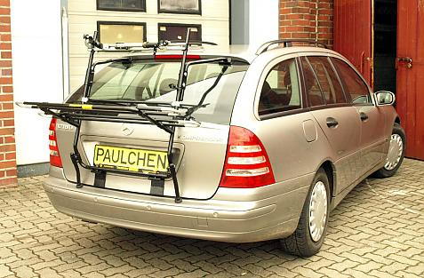 Mercedes C-Klasse 'T-Modell' (S203) Bike carrier in loading position